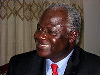 Sierra Leonean President Ernest Bai Koroma