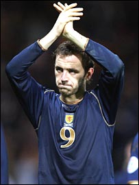 Scotland striker James McFadden