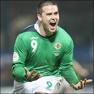 David Healy celebrates another magical moment