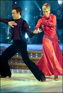 Anton du Beke and Kate Garraway on Strictly Come Dancing