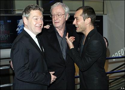 Kenneth Branagh, Sir Michael Caine, Jude Law