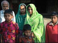 Bangladesh tiger family