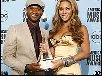 Beyonce and Usher