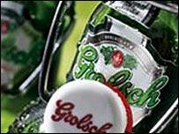 Grolsch bottles