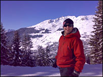 Toby Mallock, commercial director of the European Snowsport ski school