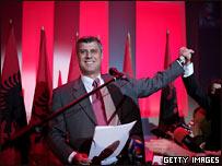 Глава Демократической партии Косова Хашим Тачи