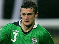 Northern Ireland defender George McCartney