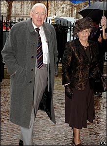 Dr Ian Paisley and his wife, Eileen