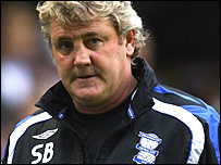 Birmingham manager Steve Bruce