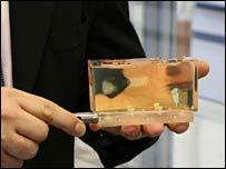Phantom tissue. Image: Paul Rincon/BBC