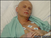 Alexander Litvinenko in Britain's hospital. File photo