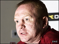 Scotland manager Alex McLeish