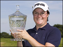 Becky Brewerton won her maiden Ladies European Tour title this year