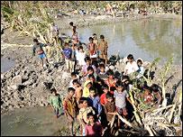 Bangladesh storm victims