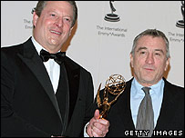Al Gore and Robert De Niro