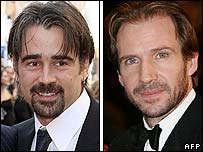 Colin Farrell and Ralph Fiennes