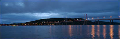 Kessock Bridge linking the Black Isle with Inverness. Picture by Iain Maclean