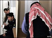 Jordanian voter