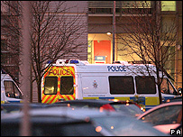 Police at HMRC Tyne and Wear