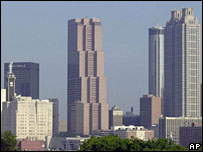 Atlanta skyline (file picture)