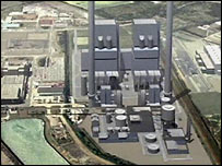 The proposed new Kingsnorth power station (BBC)