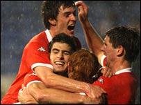Wales Under-21 striker Ched Evans