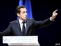 Nicolas Sarkozy - 20/11/2007