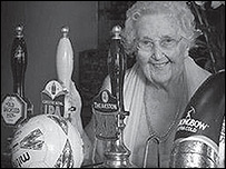Nora Hardwick, 101, is Miss November