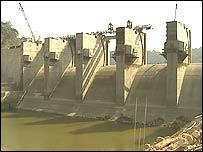 The Nam Theun 2 dam