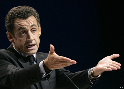 French President Nicolas Sarkozy (20 November 2007)