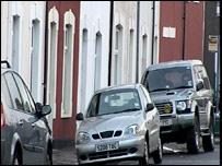 Street in Grangetown where attack happened