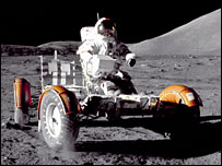 Moon buggy. Image: Nasa.
