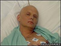 Litvinenko in hospital