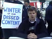 Daily Show writer Jason Ross (courtesy YouTube)