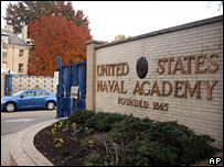 US Naval Academy in Annapolis