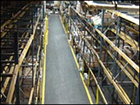 The shelves at Food Bank are empty (Pic: Food Bank)