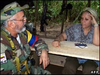 Farc commander Raul Reyes meets Sen Piedad Cordoba in September