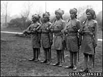 Bengal Lancers in London in 1914