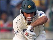 Pakistan batsman Misbah-ul-Haq