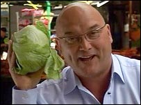 Presenter Gregg Wallace