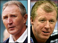 Howard Wilkinson and Steve McClaren