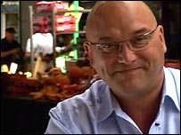 Presenter Greg Wallace