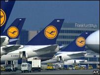 Aircraft at Frankfurt