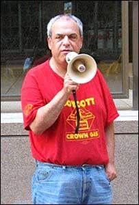 Unionist Eddie Rothstein in USA