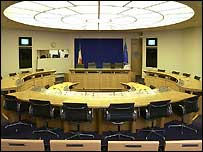 committee room (Picture courtesy of the Houses of the Oireachtas)