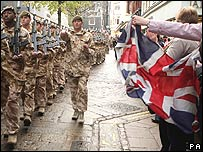 Royal Anglian Regiment in Norwich