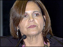 Governor of the Brazilian state of Para, Ana Julia Carepa (Picture: http://www.senado.gov.br/)