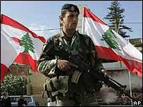 The army has been deployed heavily in Beirut