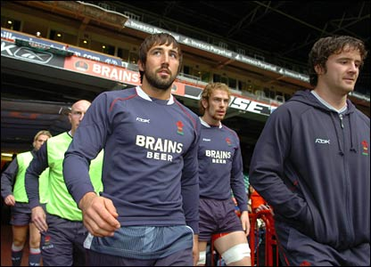 Gavin Henson gets ready for his return to Test rugby against South Africa