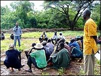 Open-air meeting